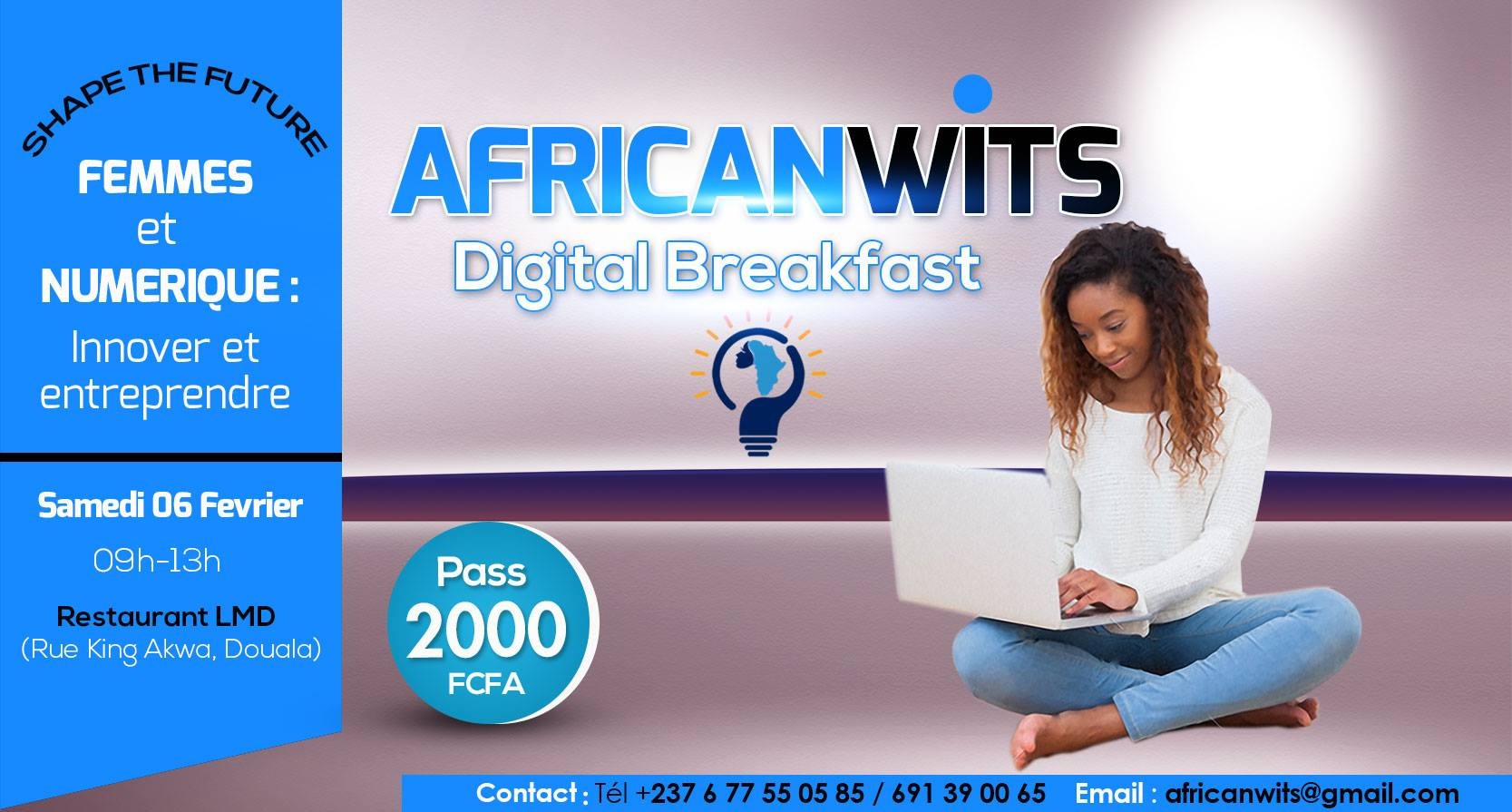 Lddls africanwits digital breakfast le salon du for Salon du digital