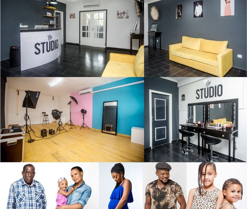 "Opening of the ""The Studio"" space in Douala, for your professional photo shootings"