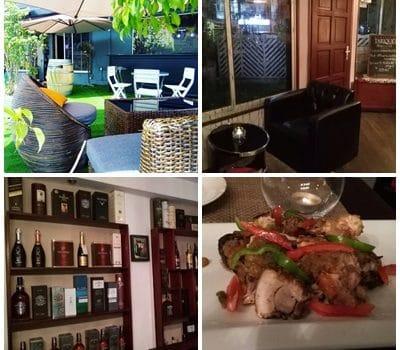 #DansMesMarches: La Vinothèque Bonapriso, entre cave à vin, restaurant et mini-jardin