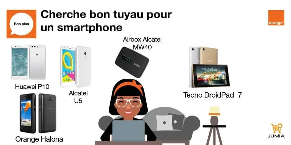 Smartphones Orange Cameroun