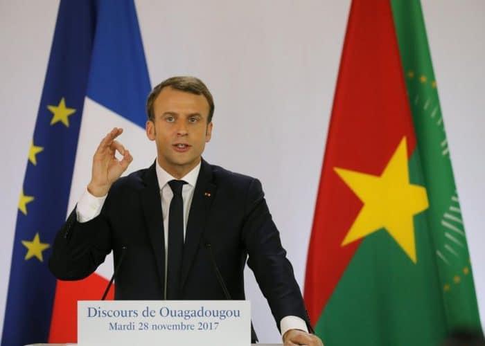 10 Phrases d' Emmanuel Macron à la jeunesse africaine