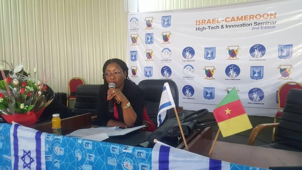 Mme ABONGO Menanga Mireille, Directrice des PME, au Ministre en charge des PME