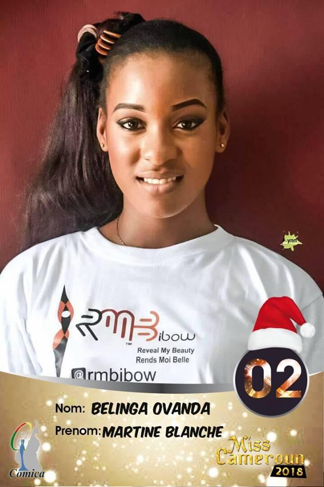 Miss Cameroun 2018 - 02 - Belinga Martine