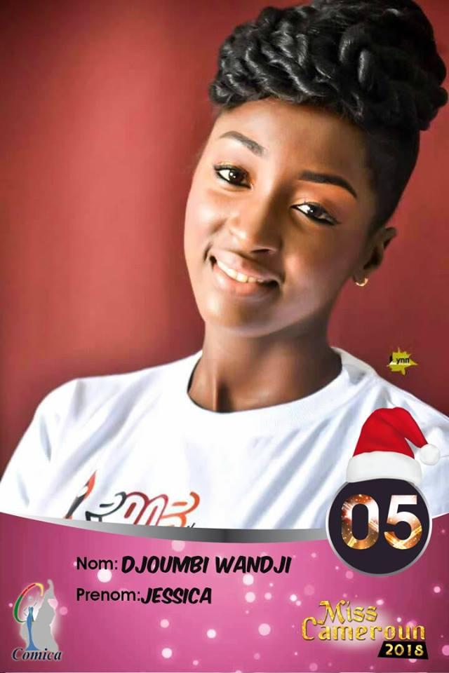 05- Jessica Djoumbi Wandji, 1ere dauphine Miss Ouest 2018