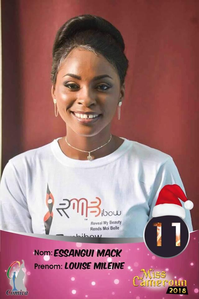 11- Essangui Mack Mileine, Miss Cameroun Littoral 2018