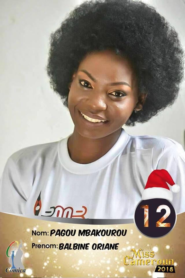 12- Pagou Dorianne, 1ere Dauphine Adamaoua 2018