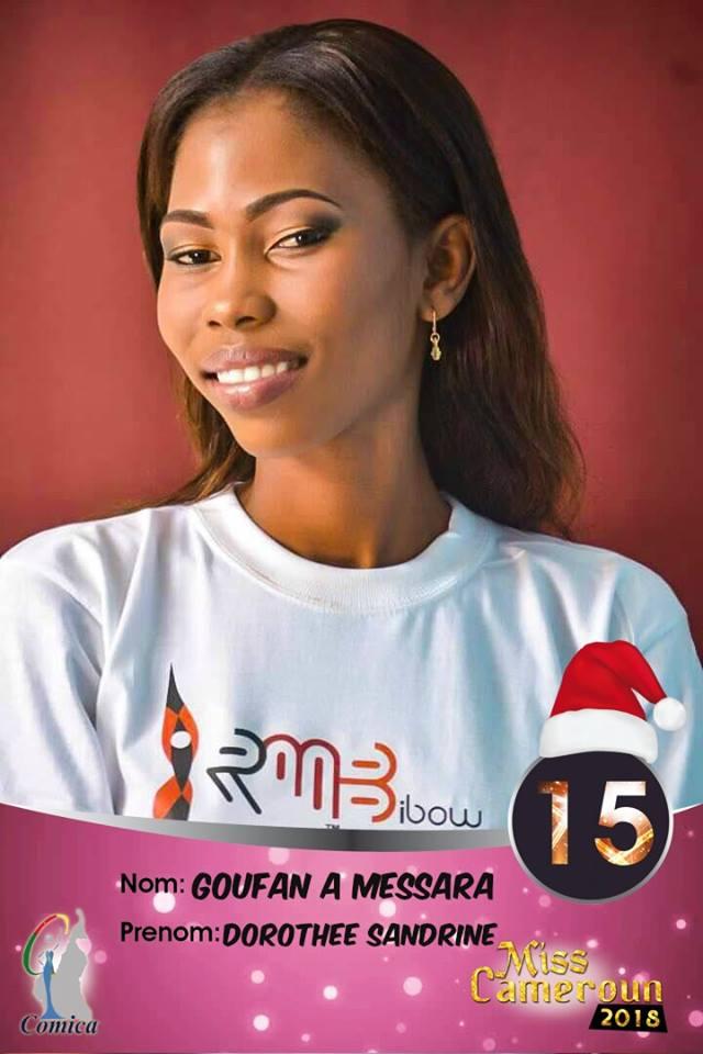 15- Ngoufan A Messara Sandrine, 2e Dauphine Miss Sud Ouest 2018