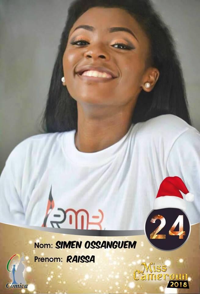 24- Raissa Ossanguem est la 2e dauphine Nord Ouest 2018