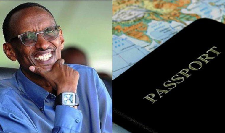 Visa Rwanda Passeport - Kagame