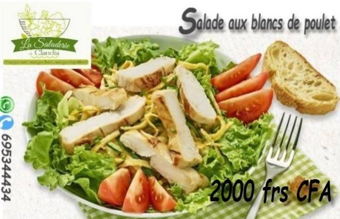 Saladerie de Claudia - Salade au poulet