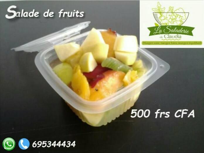 Saladerie de Claudia - Salade de Fruits