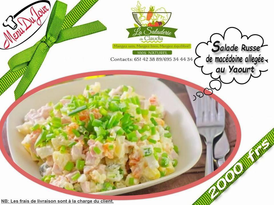 Saladerie de Claudia - Salade russe Macédoine