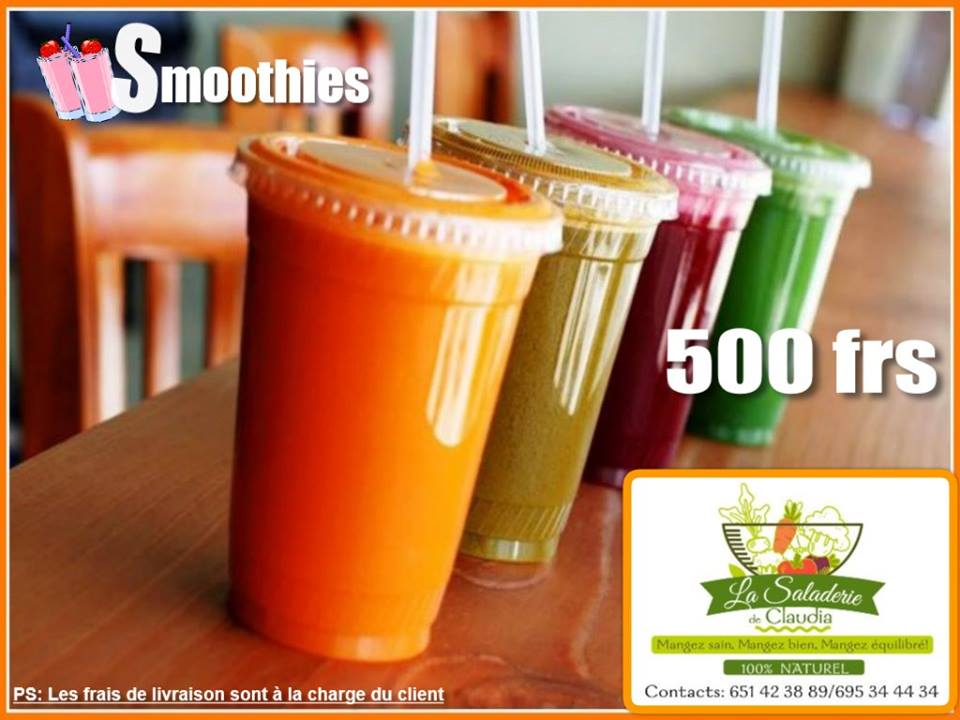 Saladerie de Claudia - Smoothies