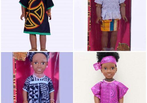 On craque pour les poupées africaines Sarama Dolls   Les Marches d'Elodie