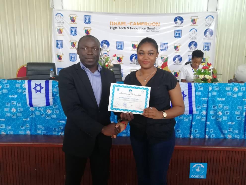 Seminaire High Tech - Ambassade d'Israel - Elodie Nonga