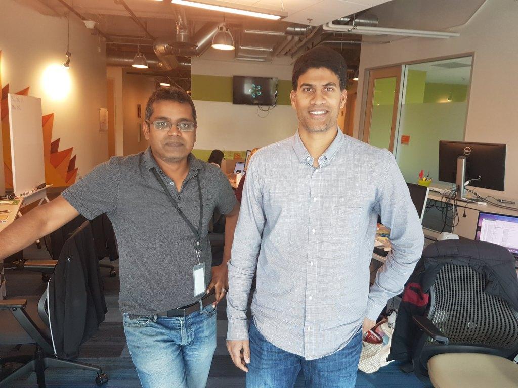 Baker Nanduru et Manu Harish - GoDaddy Sunnyvale
