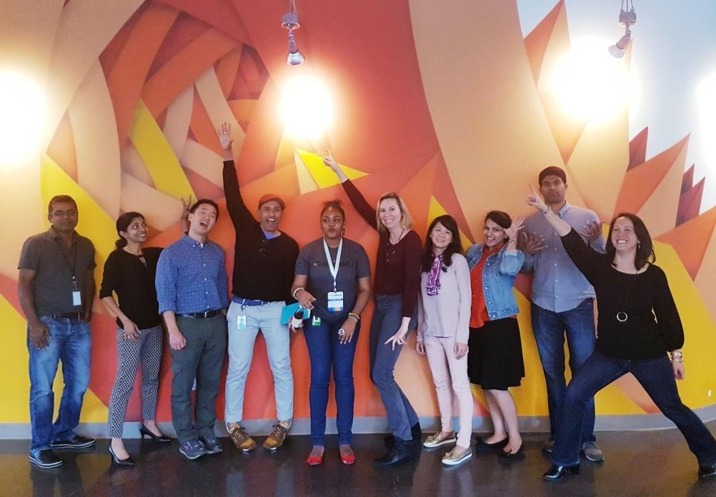 Equipe de productivité de GoDaddy à Sunnyvale