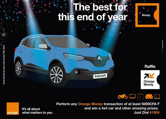 Win your end-of-the-year gifts with Orange Money Raffle