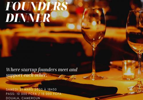 1ère Edition du « Digital Founders Dinner » à Douala : Un diner qui rassemble autour de l'entrepreneuriat numérique