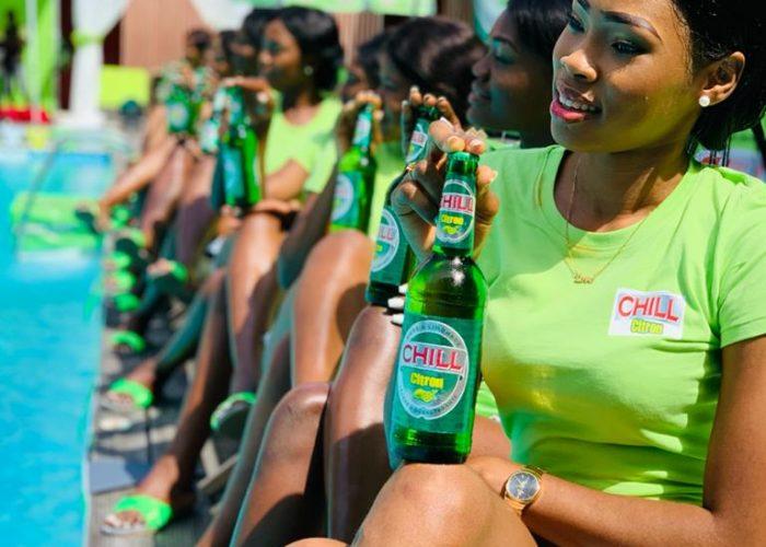 Une CHILL Party pour la «CHILL Citron», nouvelle bière au Cameroun par la SABC